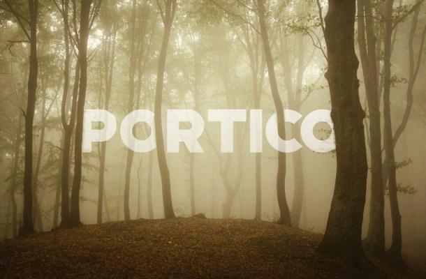 Portico Free Vintage Font