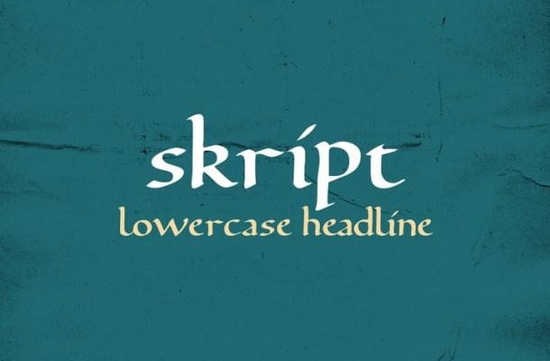 Skript Free Font