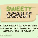 Sweety Donut – Free Fun Typeface
