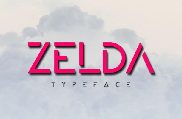 ZELDA Free Typeface Family