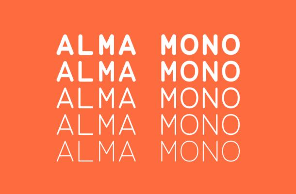 Alma Mono Free Font Family