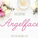 Angelface Free Typeface