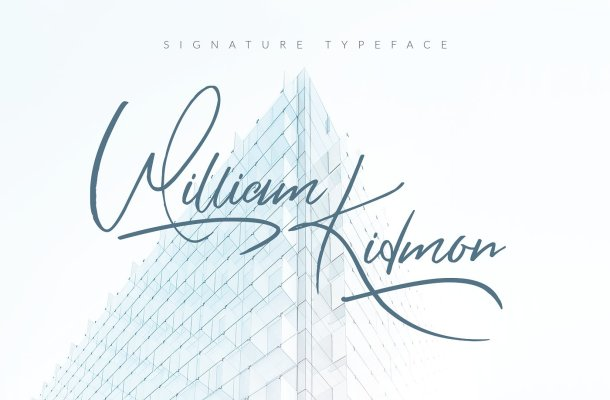 William Kidmon Free Font
