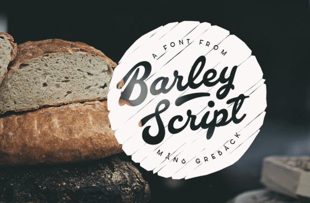 Barley Script Free Font