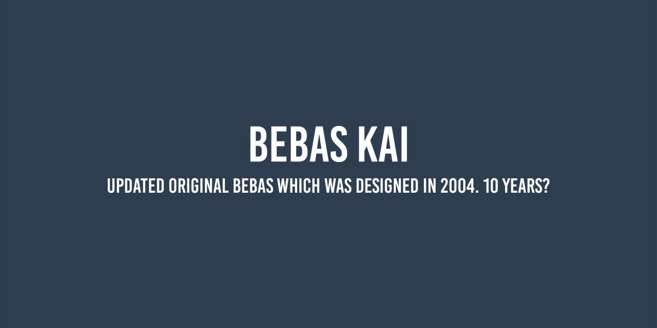 bebas-kai-font-1-original