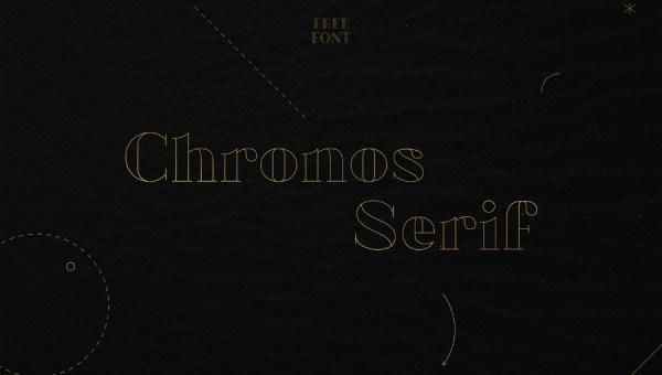 Chronos Serif Free Font Family