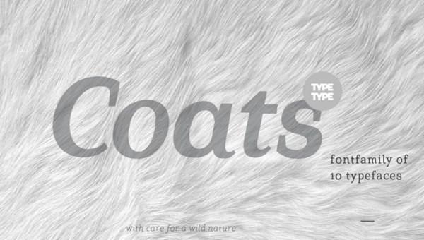 Coats Font Free