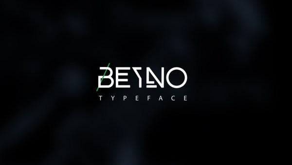 Beyno Free Uppercase Font