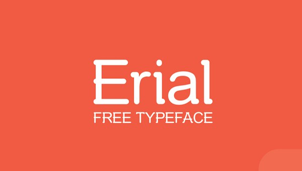 Erial Free Font