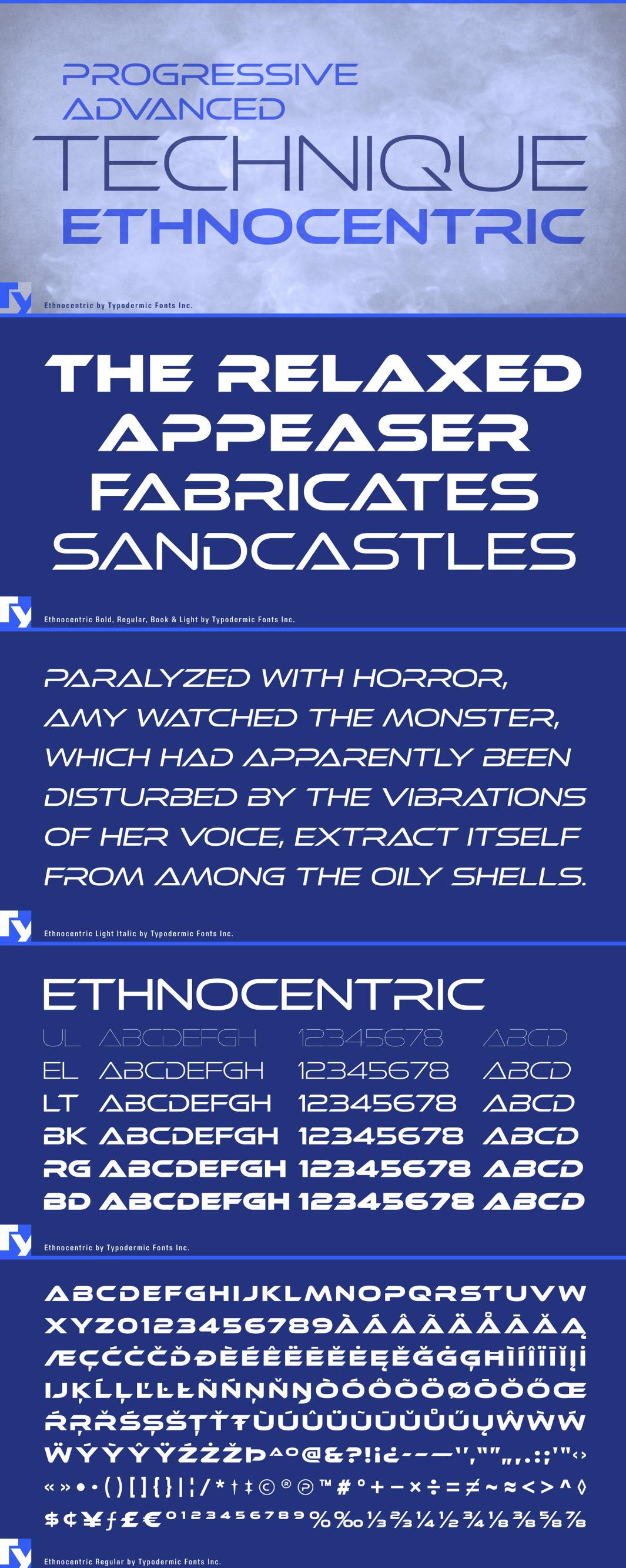 ethnocentric free font