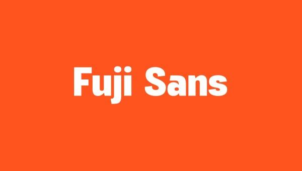 Fuji Sans Free Font