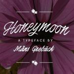 Honeymoon Free Handwritten Font