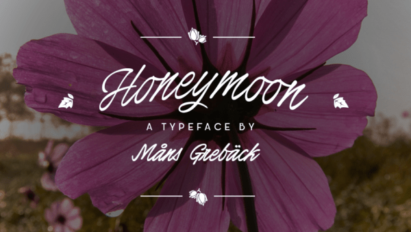 Honeymoon Free Handwritten Font