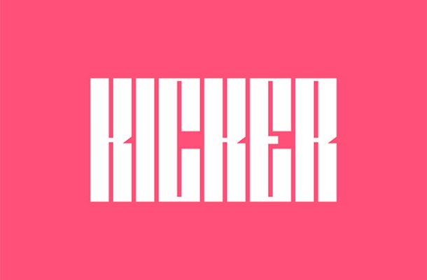 Kicker Free Ultra Condensed Font