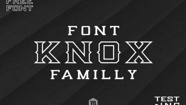 Knox Free Serif Font