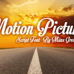 Motion Picture Free Font