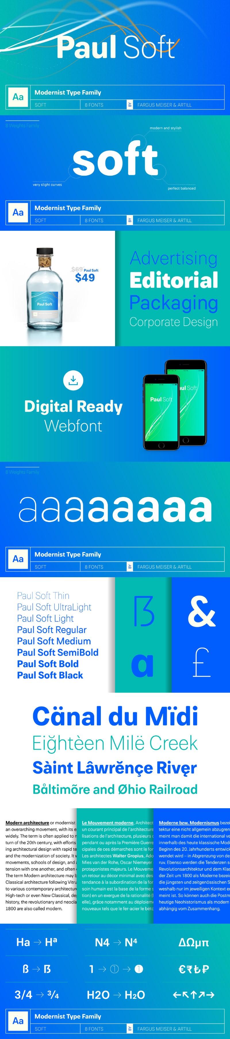 Paul Grotesk Soft Free Font - Free Fonts