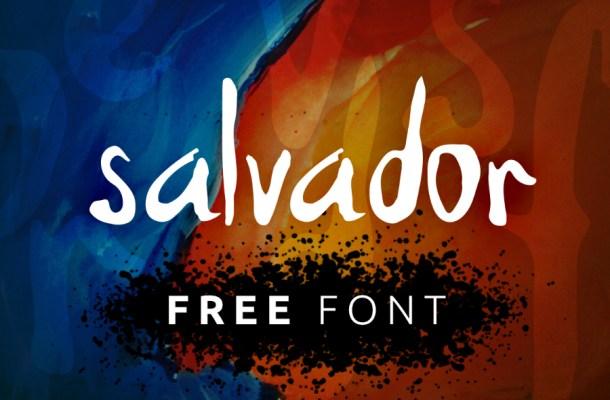 Salvador Free Handwriting Font