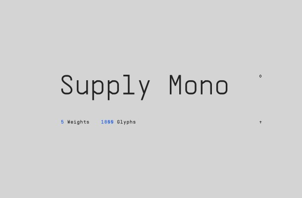 Supply Mono Font Family