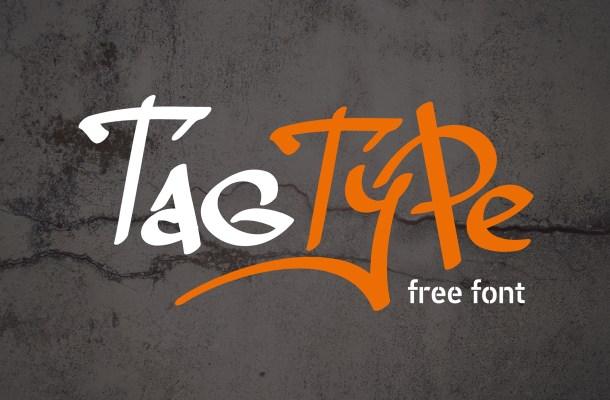 Tag – Free Graffiti Font