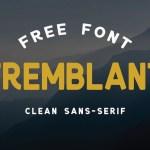 TREMBLANT Font Free