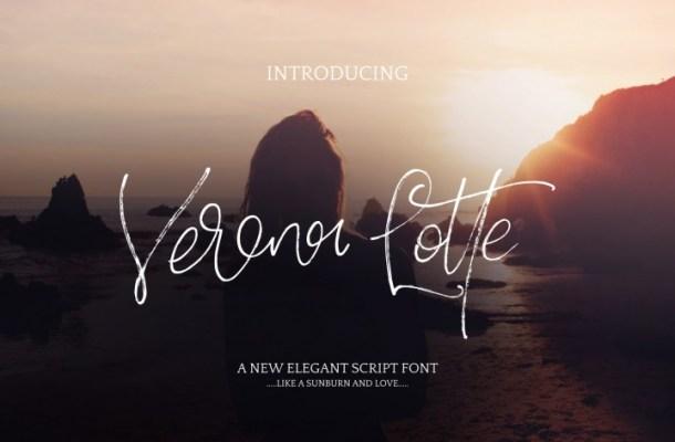 Verona Lotte Free Font