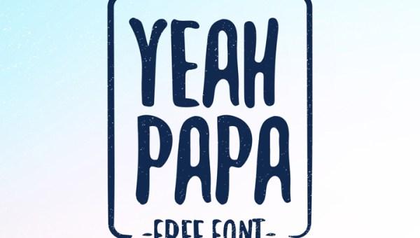 Yeah Papa Free Typeface