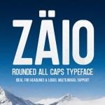 Zaio Rounded Font Free