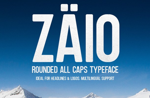Zaio Rounded Font Free