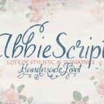 Abbie Script Font