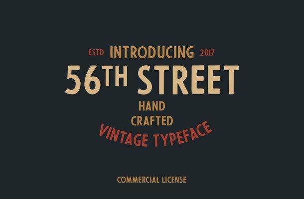 56th Street Font