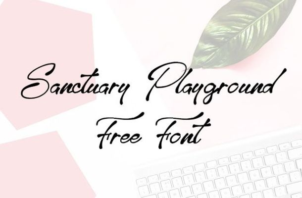 Sanctuary Playground Font Free