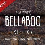 Bellaboo Handmade Font
