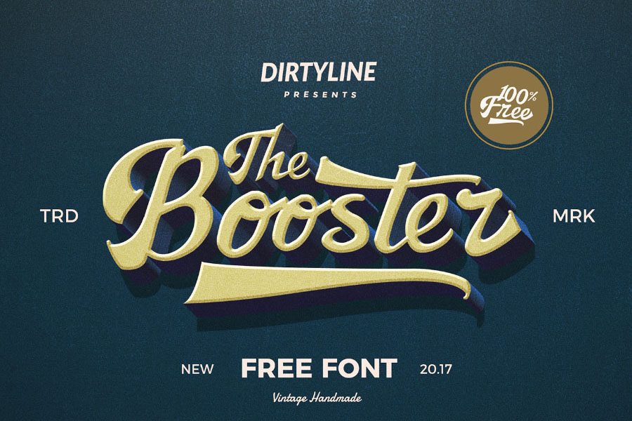 Booster-Free-Font_Dirtyline-Studio_271017_prev00