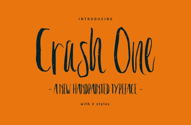 Crash One Free Typeface