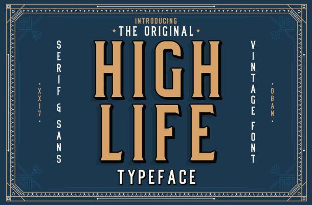 High Life Font