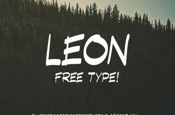 LEON Font Free