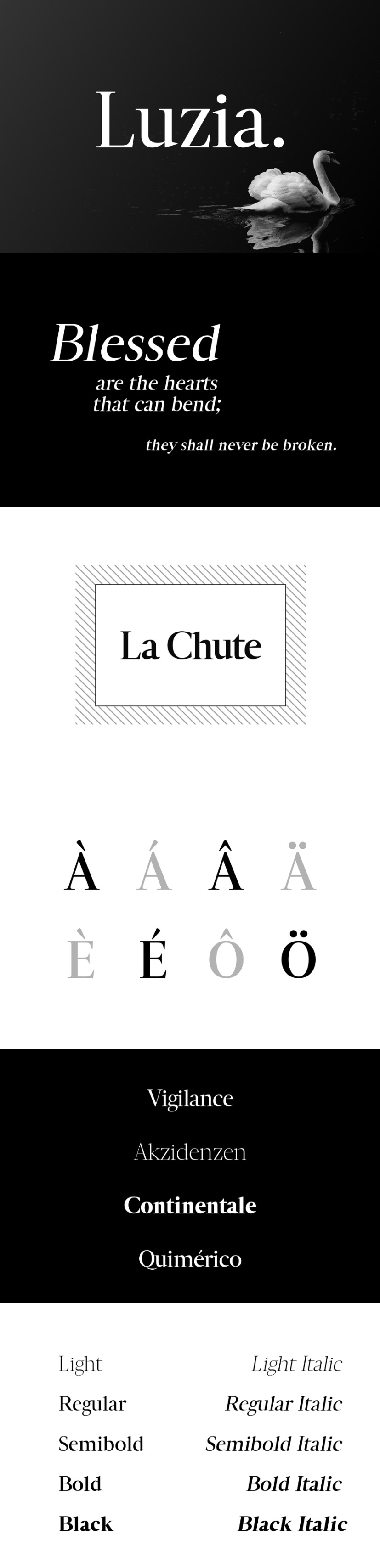 Luzia Font Family 2