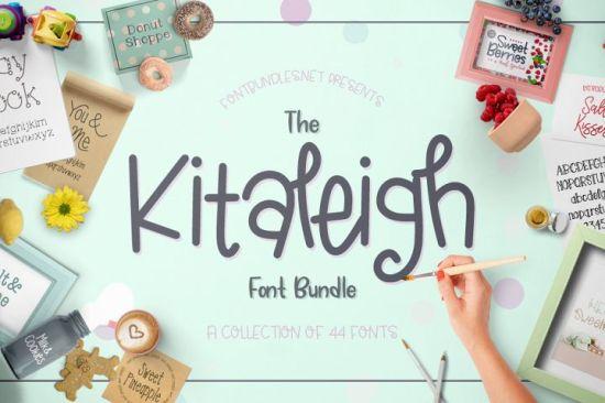 The-Kitaleigh-Font-Bundle
