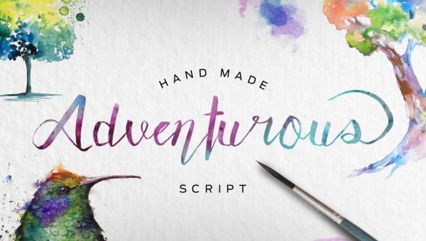 Adventurous Script Font