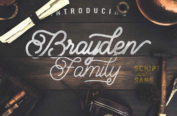 Brayden Script Font