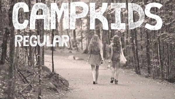 Camp Kids Font Free