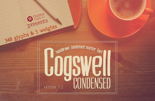 Cogswell Condensed Font