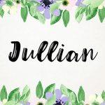 Julian Script Font Free