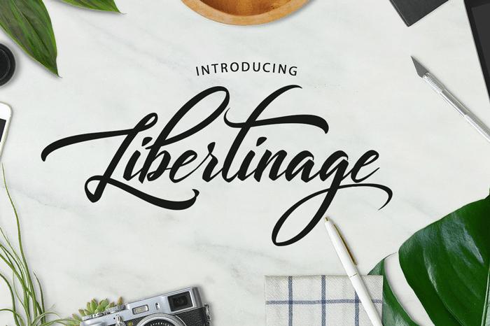 libertinage-script-font