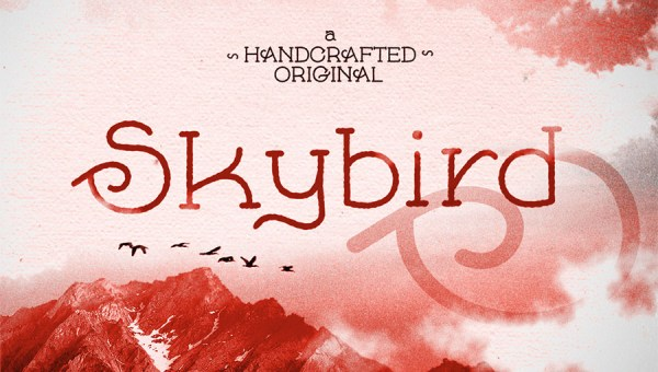 Skybird Rough Font Free