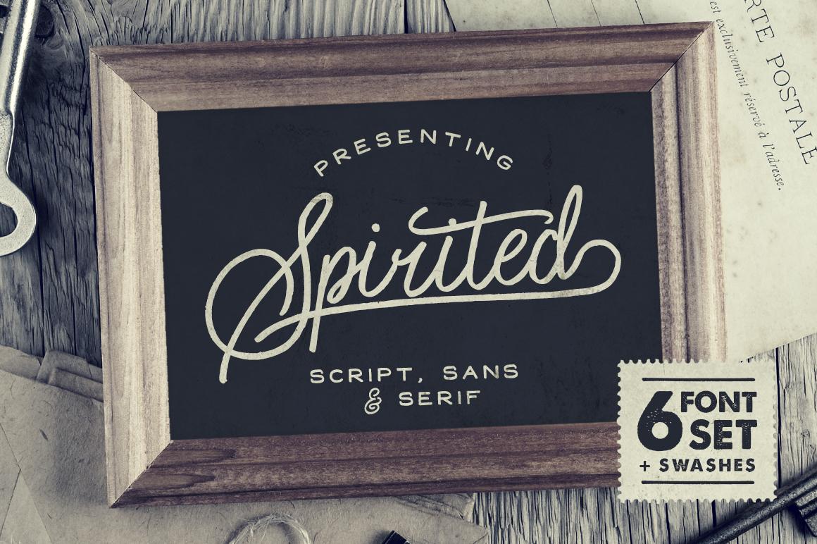 spirited-font-family
