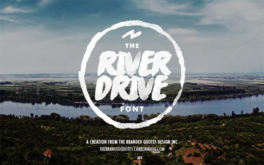 01_river-drive-free-font