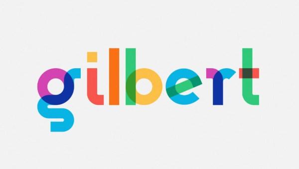 Gilbert Animated Typeface