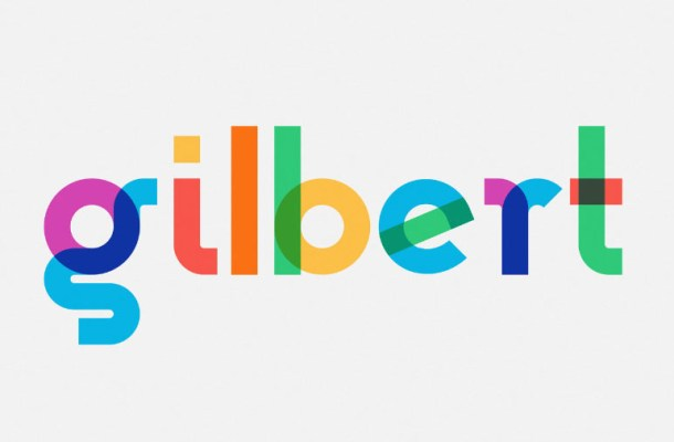 Gilbert Animated Typeface